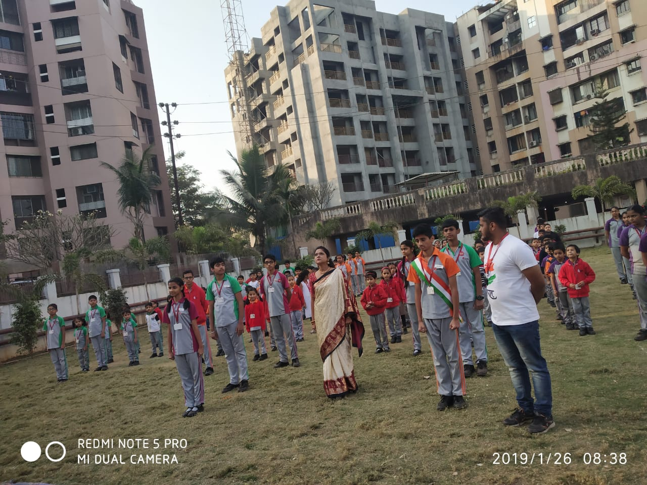 REPUBLIC DAY 2019 @ Thane Campus